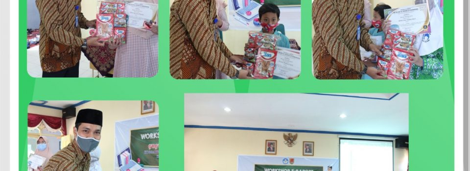 Penyerahan Penghargaan The Best Students of Virtual Learning (PJJ) bulan Agustus 2020